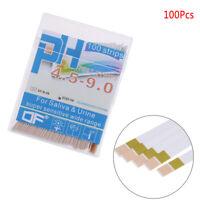 100 PH indicator test strips 4.5-9 paper litmus tester laboratory urine&saliva B