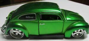 Maisto G Ridez Volkswagen Beetle 1/24#31023 Green diecast Bugz