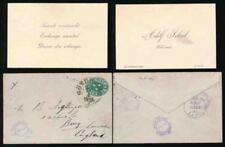 Handstamped Victorian (1837-1901) Postal Card, Stationery European Stamps