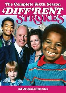 DIFF'RENT STROKES TV SERIES COMPLETE SIXTH SEASON 6 New Sealed DVD Different
