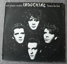 Indochine, tes yeux noirs / hors la loi, Maxi vinyl import