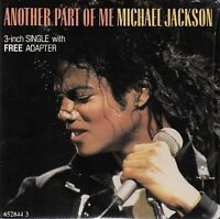 """Michael Jackson Maxi CD 3"""" Another Part Of Me - Europe (M/M)"""