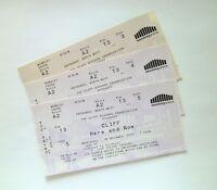 RARE CLIFF RICHARD MEMORABILIA - Tickets Stubs London Wembley Arena 08/11/06