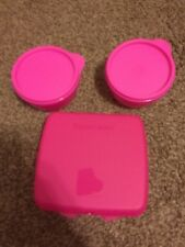 NEW TUPPERWARE PINK LUNCH  SET  PC