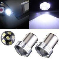 4Pcs 6.SMD Super lumière LED BLANC CANBUS erreur pour voiture 1156 BA15S P21W