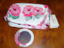 Cath Kidston Beaumont Rose Classic Box Cosmetic Bag with Mirror