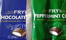 Frys peppermint & chocolate cream x 12 Bars UK sweets retro 80s gift fondant box