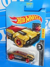 Hot Wheels 2017 Factory Set Super Chromes Series Rogue Hog Gold Chrome