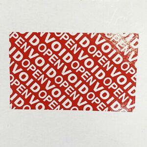 Nastro adesivo anti manomissione rosso 50mm x 50 MT lascia la scritta sul pacco