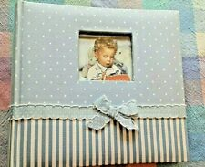 Brand New Blue Baby Boy Photo Album Book Scrapbook Memories