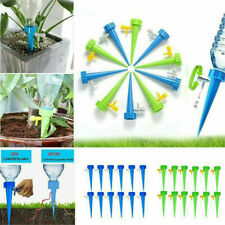 Garden Plant Self Watering Spike Stakes Water Drop Device With Control Valve