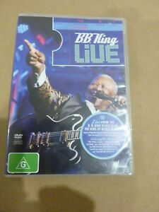 BB KING LIVE 2008 AT BB KING BLUES CLUB - DVD REGION 4 - EXCELLENT