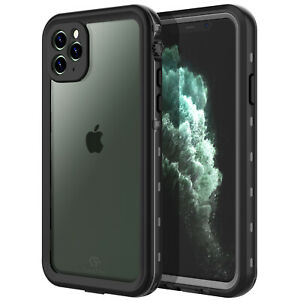 For Apple iPhone 11 Pro Max Case Waterproof Shockproof Built-in Screen Protector