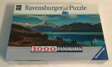 Brand New Sealed 1000 Piece Ravensburger Panorama Snow Capped Mountains Puzzle
