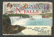 Dated 1935 Brochure Of Niagara Falls To Australia 10Pgs 30 Pics, Rare