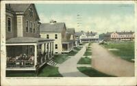 Fort Oglethorpe Barracks Chickamauga Park GA Detroit Publishing Postcard