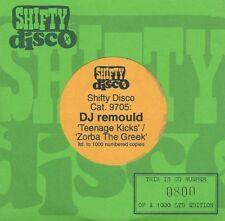 1997 CD Single DJ REMOULD Teenage Kicks b/w Zorba The Greek MINT  THE UNDERTONES