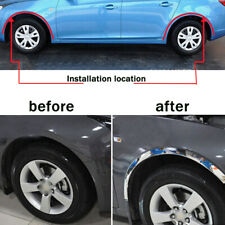 5M Silver Adjusted Car Wheel Rubber Eyebrow Protector Arch Trim Fender Strip