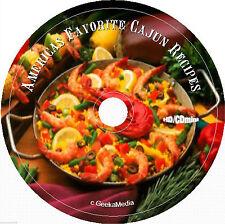 Cajun Cookbooks CD gumbo Creole mammy louisiana new orleans soul food lot black