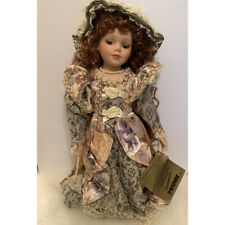 """Vintage Seymour Mann Connoisseur Collection Porcelain Doll """"Margaret"""" 16"""" Collec"""