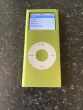 Ipod Nano 4gb Green