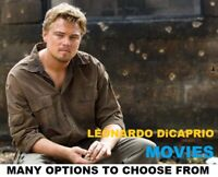 Leo DiCaprio Movies - Many options to choose from - DVD or Bluray - w/ Free Ship