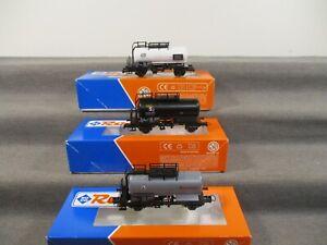 Roco H0 98173 Güterwagen Kesselwagen der CSD/CD 3 Stück in OVP M22