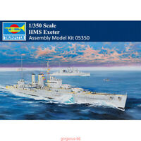Trumpeter 1/350 05350 Scale HMS Exeter Heavy Cruiser Military Assembly Model Kit