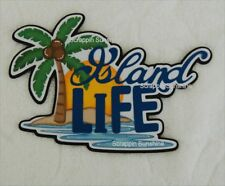 ISLAND LIFE Die Cut Title - Beach Vacation Scrapbook Page Paper Piecing SSFFDeb