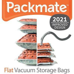 PackMate Space Saving Vacuum Storage Bags, LARGE 80 x 55cm - Lifetime Guarantee