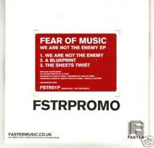 (C648) Fear of Music, We Are Not The Enemy EP - DJ CD