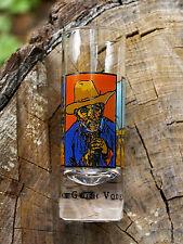 Van Gogh Vodka Martinis Demand It Tall Shot Glass Vincent Three Paintings