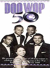 Doo Wop 50 Volumes 1  & 2 NEW! DVD SEALED ONE & TWO