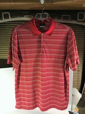 Nike Golf Dri-Fit Shirt Short Sleeve Xl Red