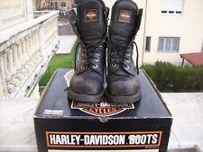 HARLEY - DAVIDSON STIVALI BOOTS 42 leggi