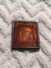 .925 Silver MC Colombia Independencia Centenario-10 Pesos Ingot Stamp - 13.7gm