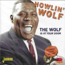 HOWLIN' WOLF-WOLF IS AT YOUR DOOR-SINGLES 1951-60-JASMINE 2 CDS NEW SEALED