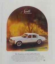 Cadillac Seville car 1979 VINTAGE magazine print ad