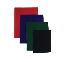 Felt Inserts for All Sizes of Riker Display Cases Black Blue Green Red Felt Only