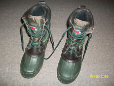 Men's Lake N Trail Leather Waterproof Thermo Lite Boots Size 6