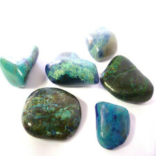 Chrysocola Tumbled Crystal For Harmony, Purification, Ease Fear, Anxiety & Guilt