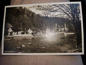 Ak  Sammler Hobby alt selten 1930 Treseburg  i.H