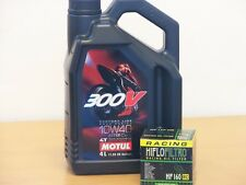 Motul 300V 10W-40 / Racing - Ölfilter + Filterschlüssel BMW S1000 alle ab Bj 10