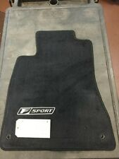 LEXUS IS250/350 2008-2011 F-SPORT 4PCS BLACK FLOOR MATS RWD PT208-53097-02