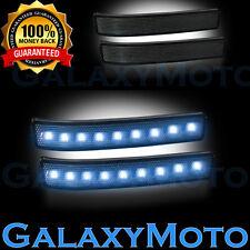 Ford   F Side Mirror Ledturn Lights White Ledsmoke Lens Reflector Fits  Ford F