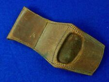 New listing German Germany Antique Old Ww1 Hunting Dagger Knife Leather Frog