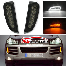 For Porsche Cayenne 2007-2010 2x White LED Tube Daytime Day Fog Light DRL Signal