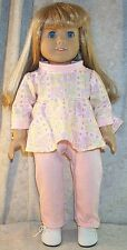 "Doll Clothes Made 2 Fit American Girl 18"" in 2 pcs Tunic Pants Dragonflies"