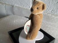"""GANZ COTTAGE COLLECTIBLES MINIATURES..""""JOEY""""...CC 7304...3.5""""..JOINTED..PLUSH"""