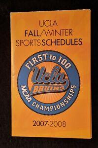 2007-08 UCLA Fall/Winter Sports - Football, Basketball, Volleyball & Soccer